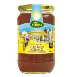 De Traay Bloemenhoning vloeibaar bio 900 gram | € 9.27 | Superfoodstore.nl