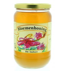 Honingen De Imker Bloemenhoning vloeibaar 900 gram kopen