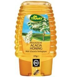 De Traay Acaciahoning knijpfles bio 375 gram | Superfoodstore.nl