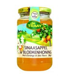 De Traay Sinaasappel honing 350 gram | Superfoodstore.nl