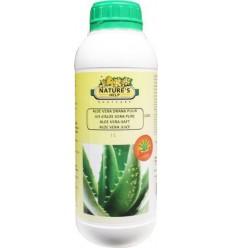 Natures Help Aloe vera drank puur 1 liter | Superfoodstore.nl