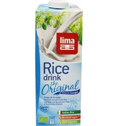 Lima Rice drink original 1 liter | Superfoodstore.nl