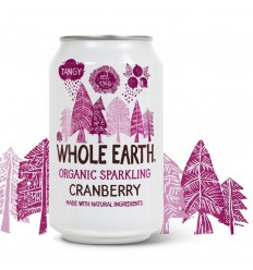 Whole Earth Mountain cranberry 330 ml | € 1.31 | Superfoodstore.nl