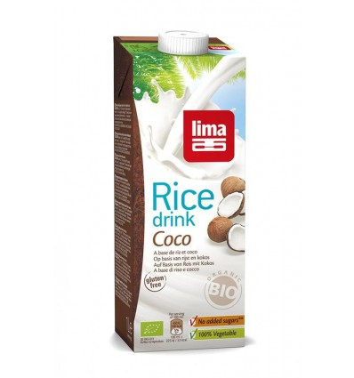 Lima Rice drink coco 1 liter | Superfoodstore.nl