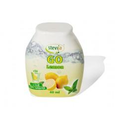 Stevija Stevia limonadesiroop go lemon 40 ml | Superfoodstore.nl