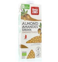 Lima Amandel drink suikervrij 1 liter | € 2.41 | Superfoodstore.nl