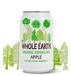 Whole Earth Sparkling apple drink 330 ml | € 1.31 | Superfoodstore.nl