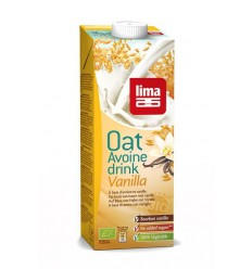 Lima Oat drink vanilla 1 liter | Superfoodstore.nl