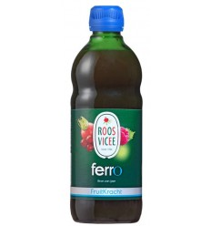 Roosvicee Fruitkracht ferro 500 ml | Superfoodstore.nl
