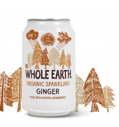Whole Earth Ginger 330 ml | Superfoodstore.nl