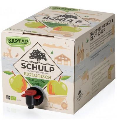 Schulp Appelsap bio saptap 5 liter | € 16.50 | Superfoodstore.nl