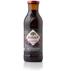 Schulp Krachtsap Cranberry puur bio 750 ml | Superfoodstore.nl