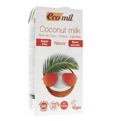 Ecomil Kokosmelk naturel 1 liter | Superfoodstore.nl