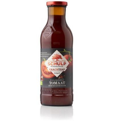 Schulp Krachtsap Tomaat puur bio 750 ml | € 3.10 | Superfoodstore.nl