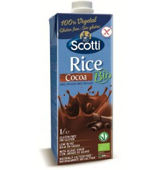 Riso Scotti Rice drink cocoa 1 liter | € 2.22 | Superfoodstore.nl