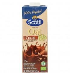Riso Scotti Oat drink cocoa 1 liter | € 2.22 | Superfoodstore.nl