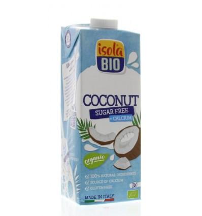 Isola Bio Kokosdrink met calcium suikervrij 1 liter