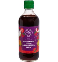 Your Organic Nature Diksap appel framboos aardbei 400 ml | € 4.13 | Superfoodstore.nl