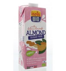 Isola Bio Amandeldrank ongezoet 1 liter | Superfoodstore.nl