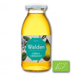 Walden Ice tea lemon lemongrass 250 ml | € 1.34 | Superfoodstore.nl