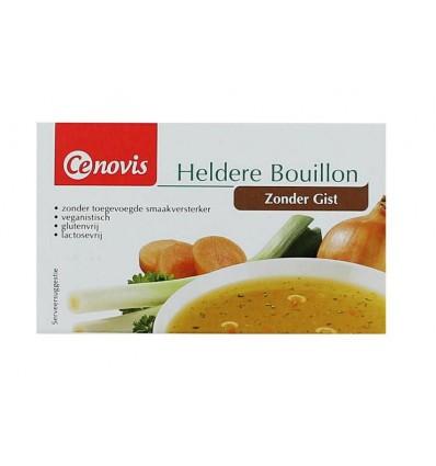 Cenovis Heldere bouillon gistvrij tabletten 88 gram | € 1.28 | Superfoodstore.nl