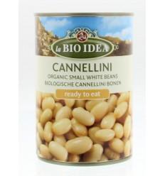 Bioidea Witte bonen bio 400 gram | Superfoodstore.nl