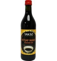 Yakso Ketjap manis bio 500 ml | Superfoodstore.nl