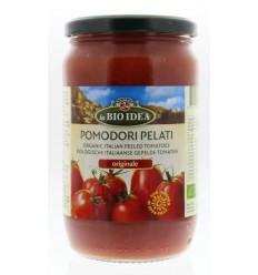 Bioidea Tomaten gepeld (glas) 660 gram | Superfoodstore.nl