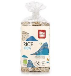 Lima Rijstwafels met zout 100 gram | Superfoodstore.nl