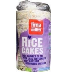 Lima Rijstwafels zonder toegevoegd zout 100 gram |