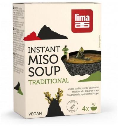 Lima Instant miso soep 40 gram | € 4.18 | Superfoodstore.nl