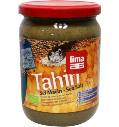 Lima Tahin met zout 500 gram | Superfoodstore.nl