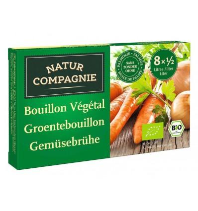 Natur Compagnie Groentebouillonblokjes met zout 84 gram |