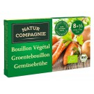 Natur Compagnie Groentebouillonblokjes met zout 84 gram