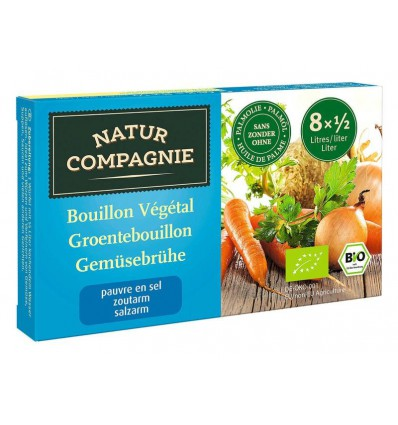 Natur Compagnie Groentebouillon zonder zout 68 gram |