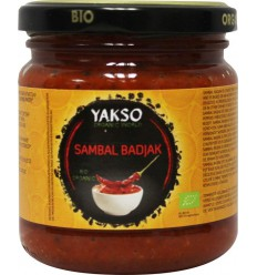 Yakso Sambal badjak 200 gram | € 2.33 | Superfoodstore.nl