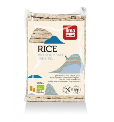 Rijstwafels Lima zonder zout dun recht 130 gram kopen