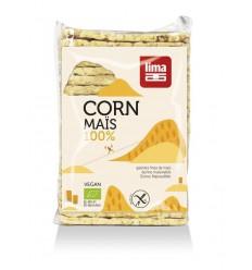 Lima Maiswafels dun rechthoek 140 gram | € 1.60 | Superfoodstore.nl