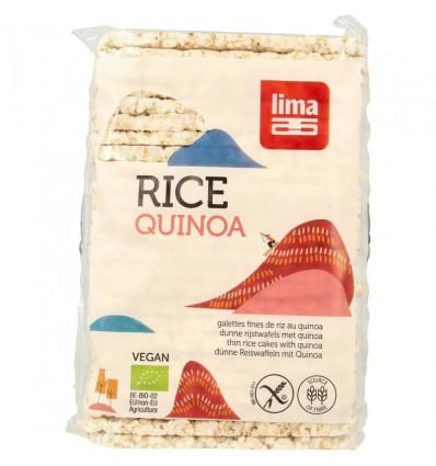 Lima Rijstwafels recht dun quinoa 130 gram kopen