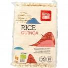 Lima Rijstwafels recht dun quinoa 130 gram