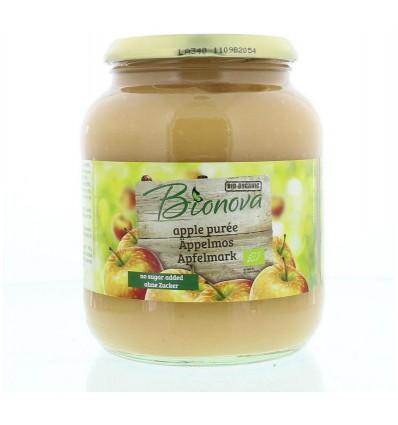 Bionova Appelpuree 720 ml | Superfoodstore.nl