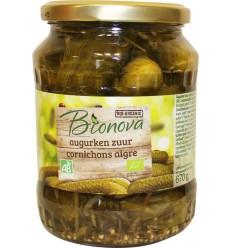 Bionova Augurken zuur 670 gram | Superfoodstore.nl