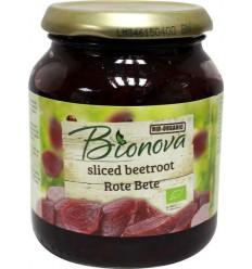 Bionova Rode bieten gesneden 340 gram | Superfoodstore.nl