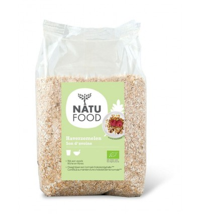 Natufood Haverzemelen bio 400 gram | € 2.57 | Superfoodstore.nl