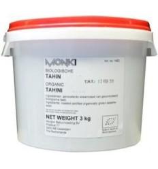 Monki Tahin zonder zout eko 3 kg | Superfoodstore.nl