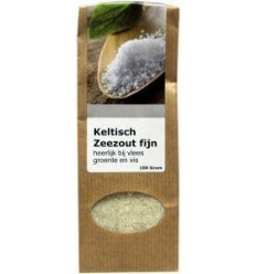 Verillis Keltisch zeezout fijn 100 gram | Superfoodstore.nl