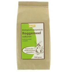 Hermus Roggemeel volkoren demeter 1 kg | Superfoodstore.nl