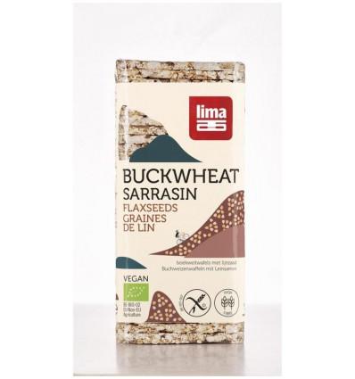 Lima Boekweitwafels lijnzaad 130 gram kopen