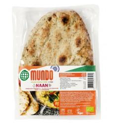 Omundo Naanbrood knoflook / koriander 240 gram |