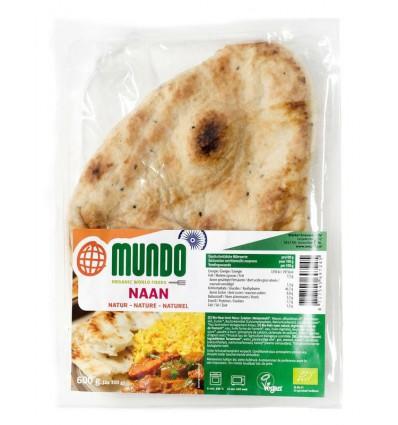 Omundo Naanbrood naturel 240 gram kopen